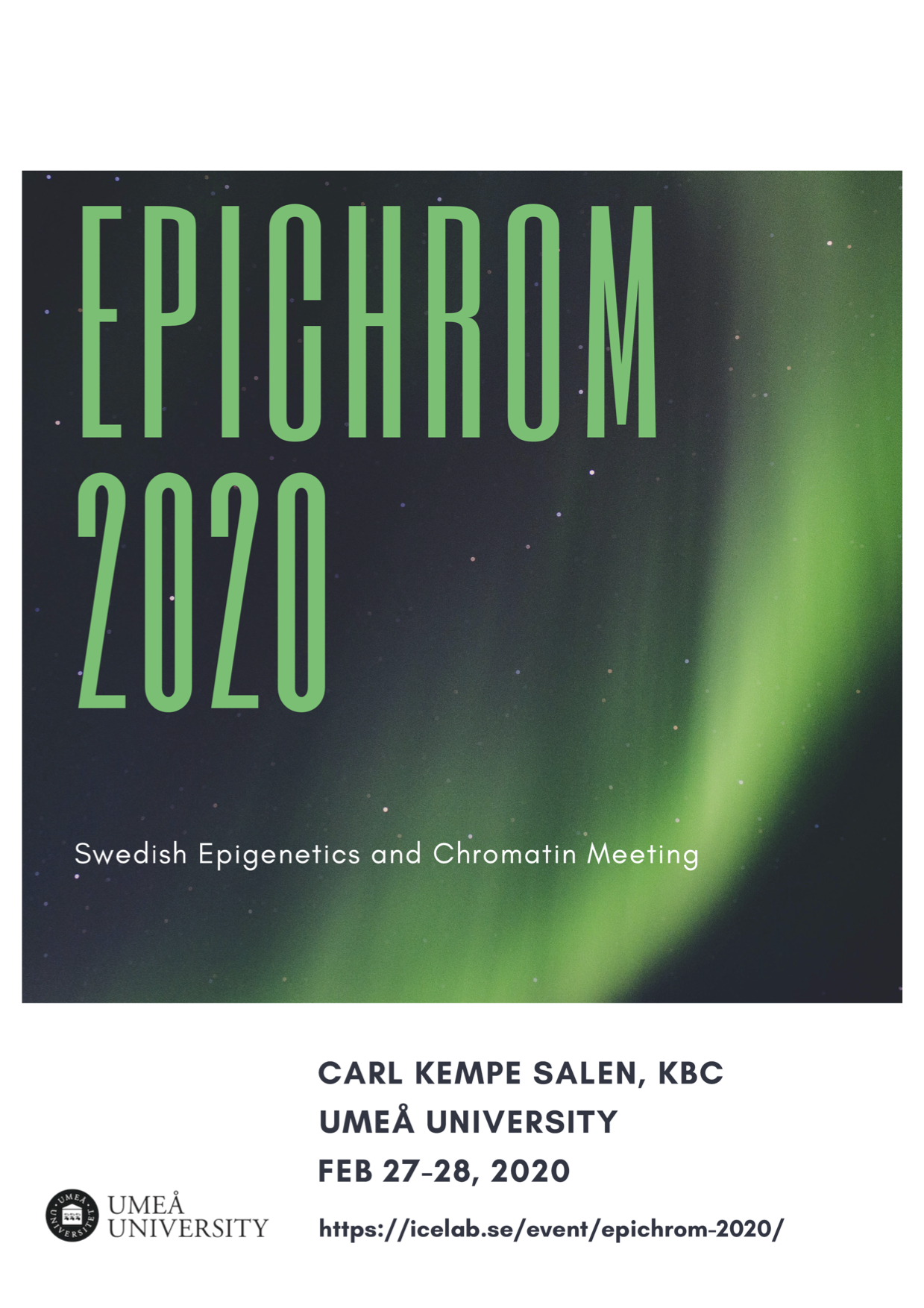 EpiChrom 2020 Abstract Booklet